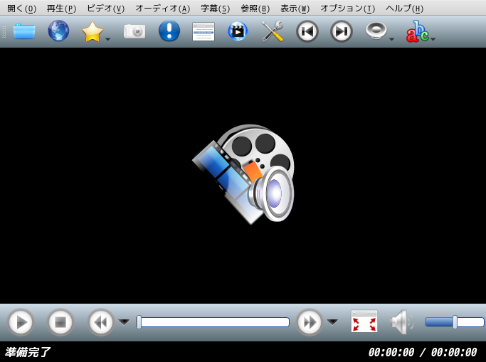 「qtile FreeBSD 12.2」-「SMPlayer」「起動直後」