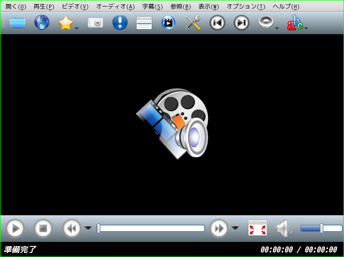 「spectrwm FreeBSD 12.2」-「SMPlayer」「起動直後」