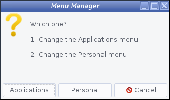 antiX - 17.3.1 -「Menu Manager」