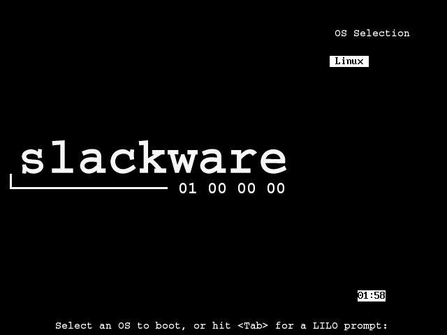 Slackware - 14.2 - boot